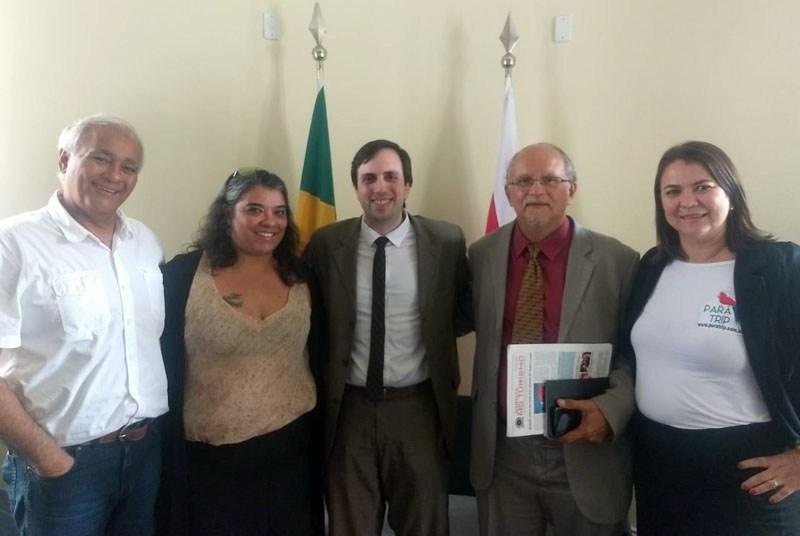 Abrajet Pará apresenta projetos ao Secretário de Estado de Turismo do Pará