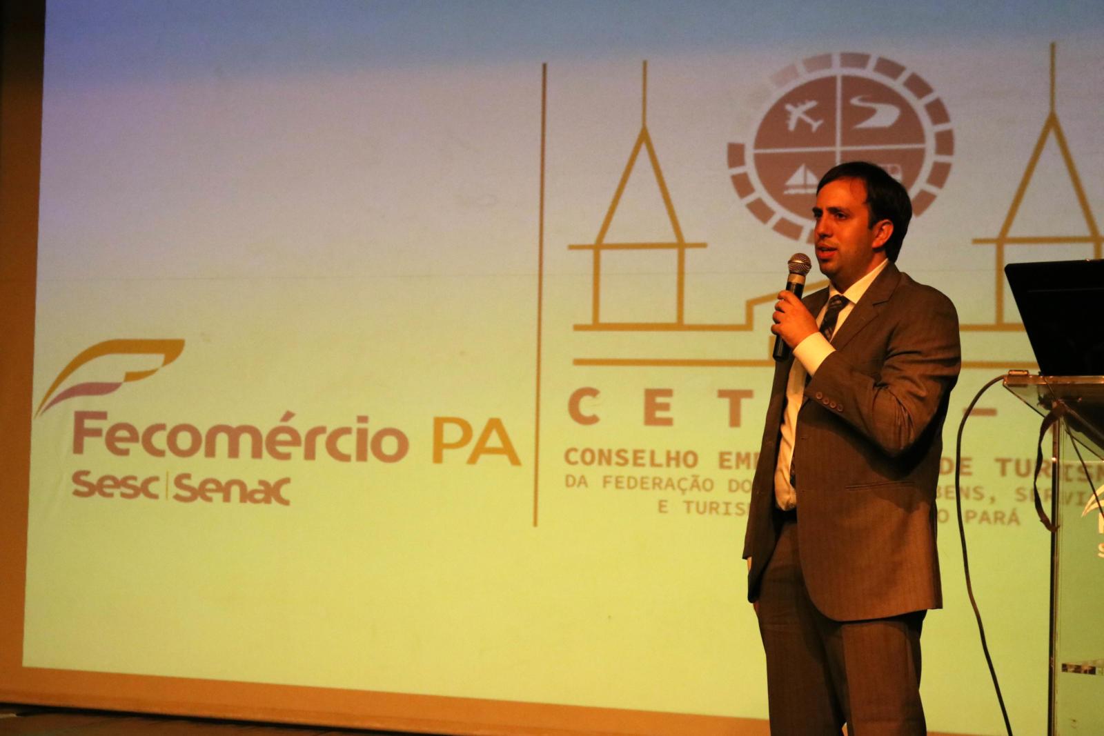 Secretário de Turismo, André Dias, representou o Governo do Estado do Pará em evento de implantação do Cetur