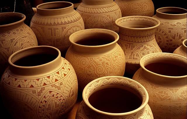 Riqueza de detalhes caracteriza cerâmica marajoara (foto: Christian Knepper (Embratur))