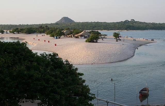 Rios formam praias perfeitas para relaxar (foto: Jean Barbosa - Paratur)