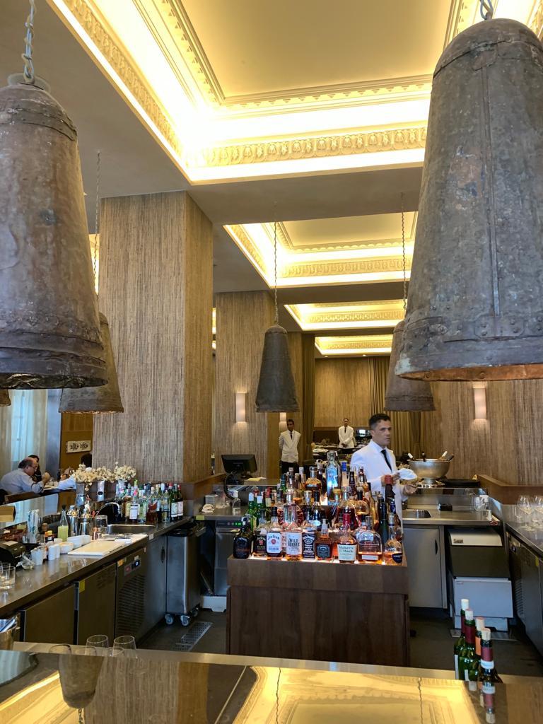 Bar do Hotel Fasano Salvador (Foto: Rogério Almeida)