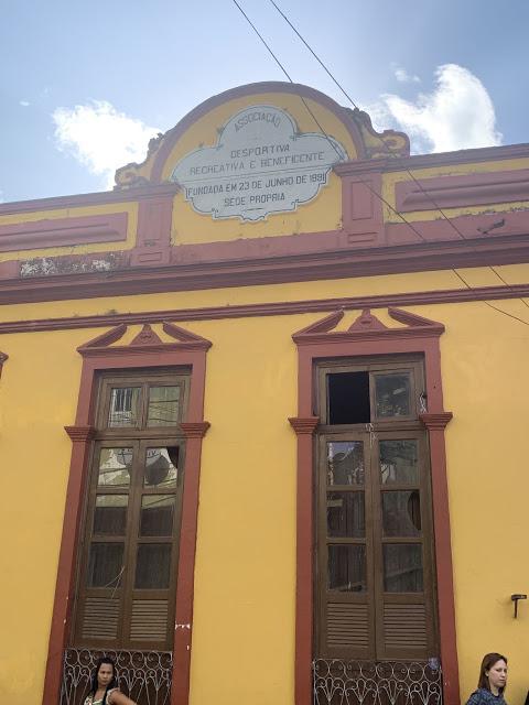 Sede do Clube Bancrevea, de 1891 (Foto:Rogério Almeida)