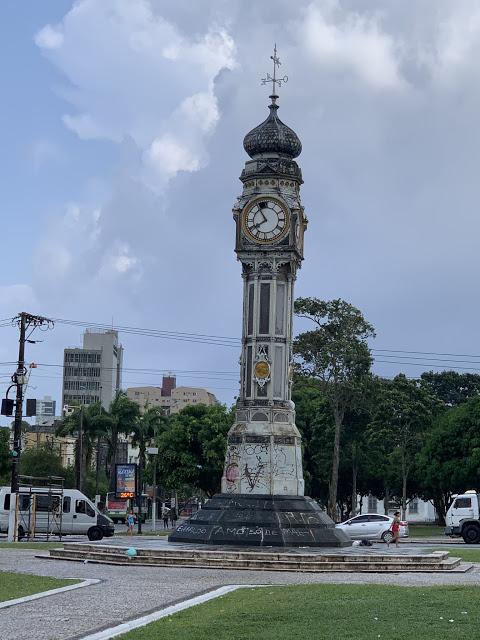 Praça do Relógio (Foto: Rogério Almeida)