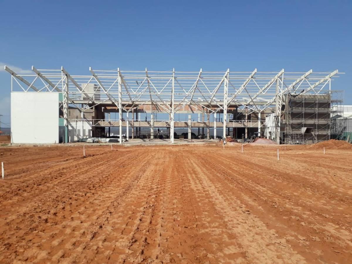 Após a conclusão, o Terminal Hidroviário terá 3.600 metros quadrados de área construída