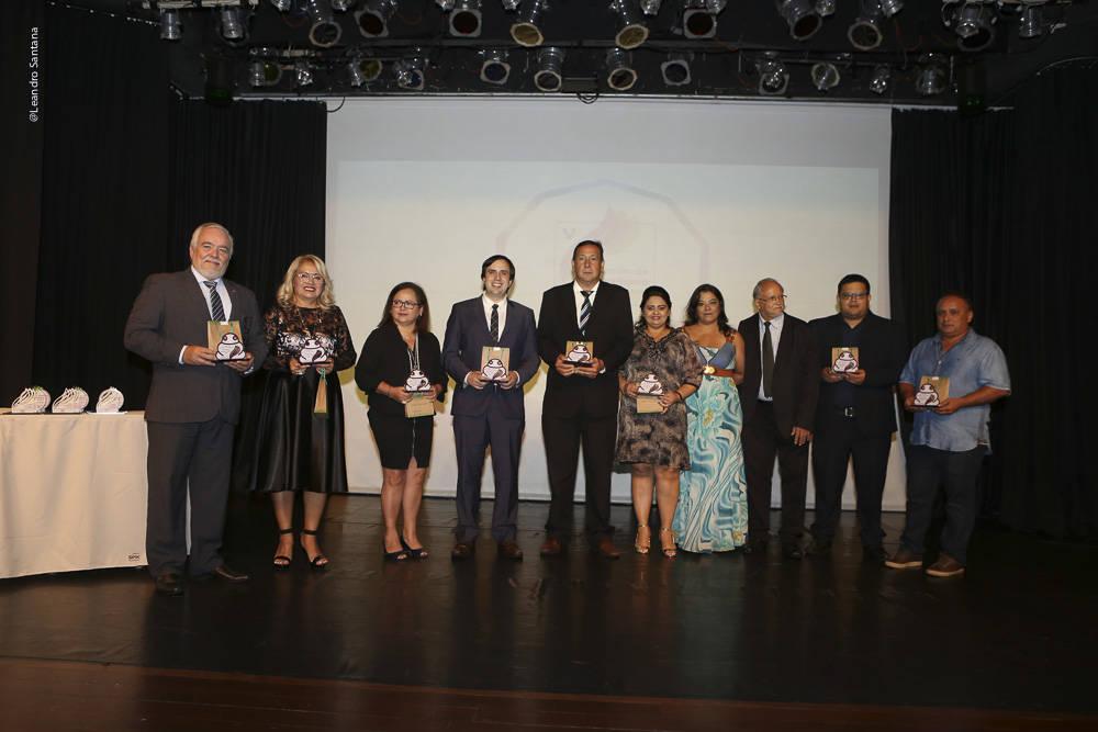 Parceiros do prêmio homenageados