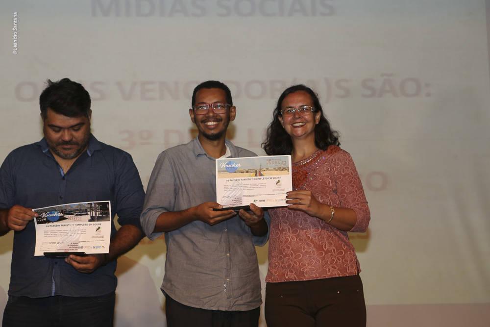 Vencedores na categoria Mídias Sociais